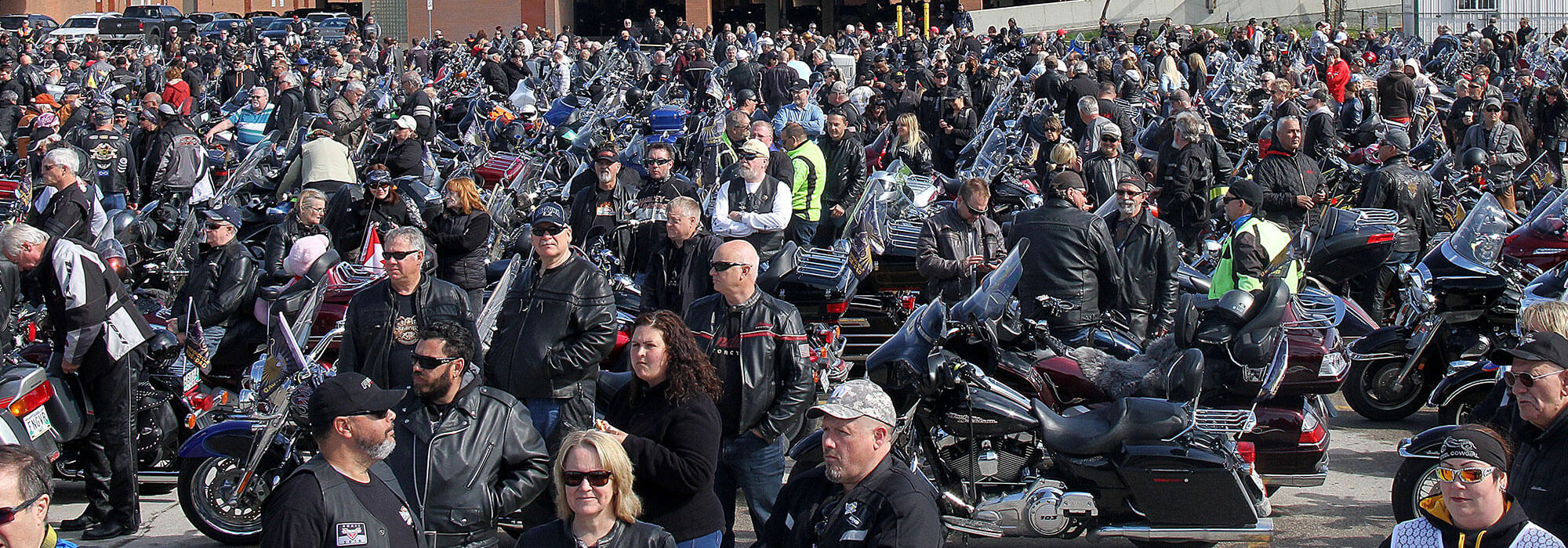 11TH ANNUAL TELUS MANITOBA MOTORCYCLE RIDE FOR DAD SETS NEW RECORD FOR REGISTERED RIDERS